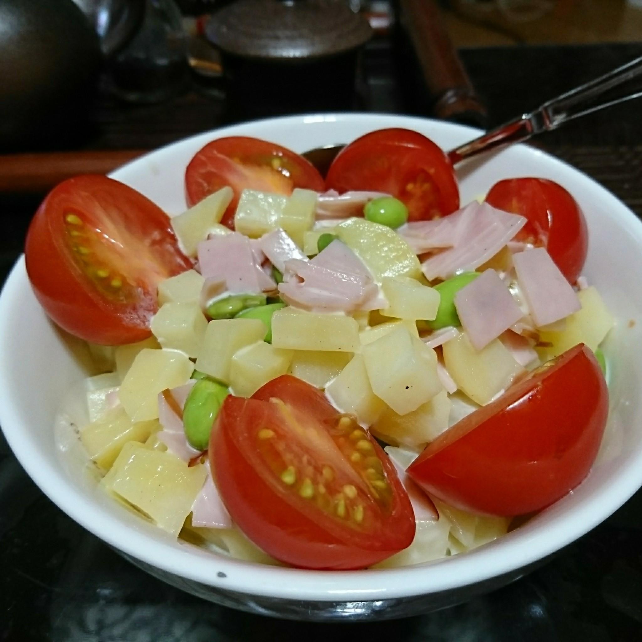 作り方 ポテト サラダ
