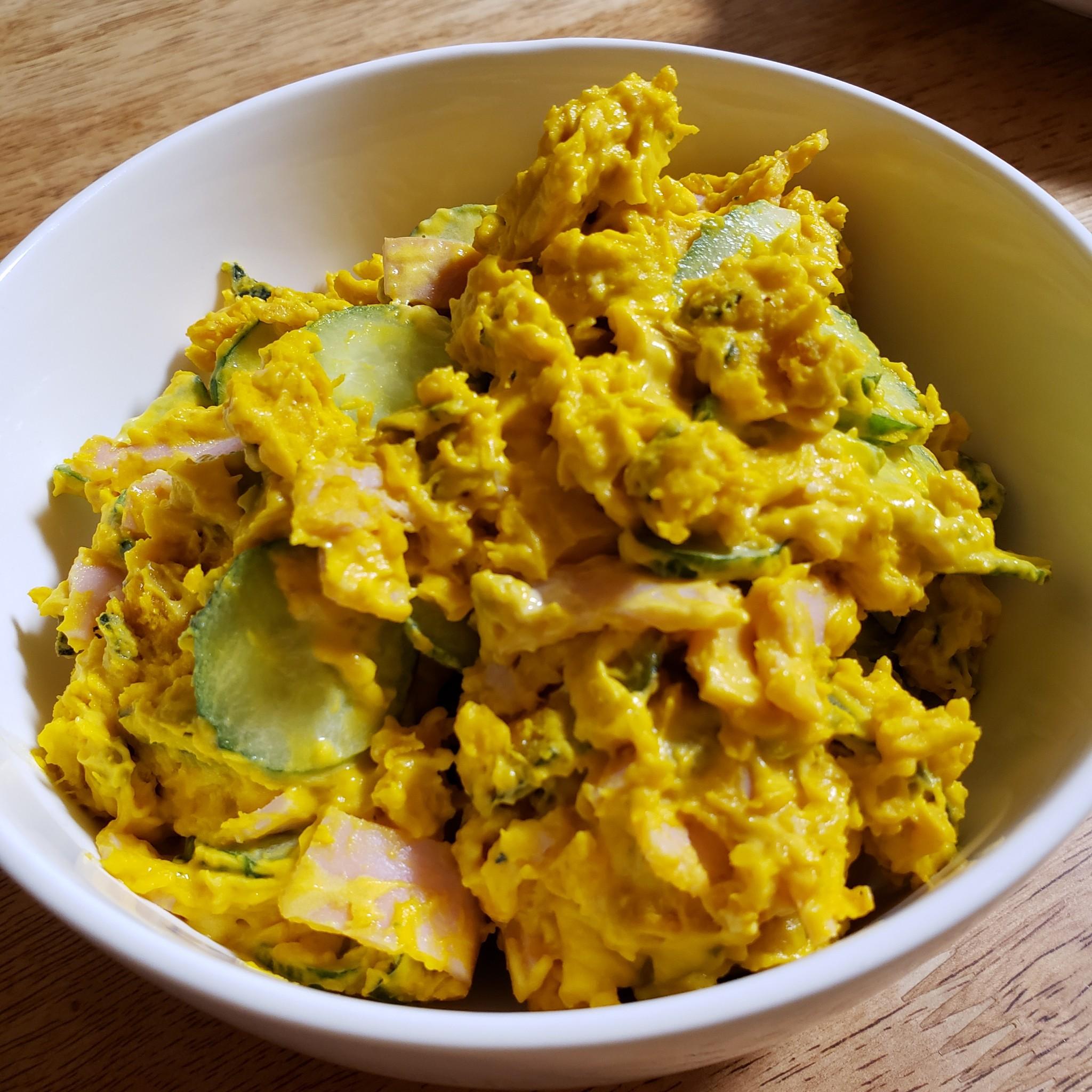 サラダ レンジ かぼちゃ レンジで簡単かぼちゃサラダ レシピ・作り方
